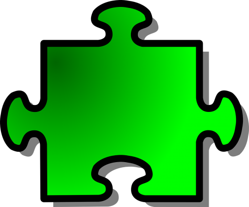 jigsaw puzzle shape