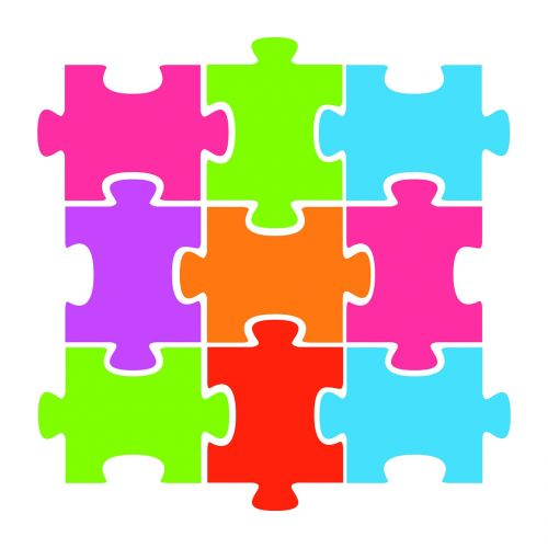 jigsaw puzzle colorful