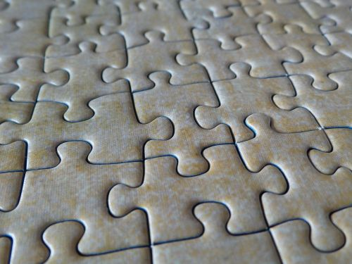 jigsaw puzzle puzzle pieces solved