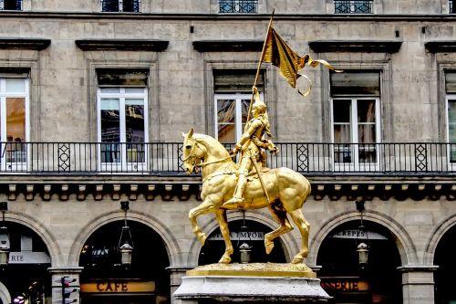 joan of arc virgin of orléans equestrian statue