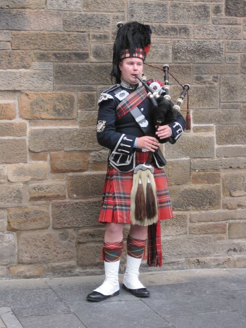 jock bagpipes edinburgh