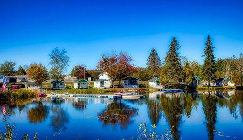 joe's pond  vermont  america
