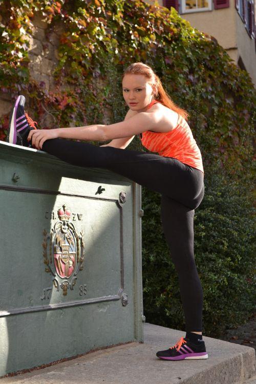 jog stretch sport