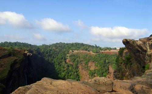 jog falls western ghats waterfall