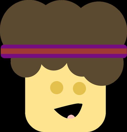 jogger  headband  cartoon