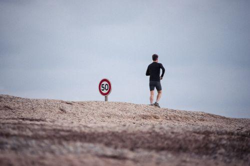 jogging male running
