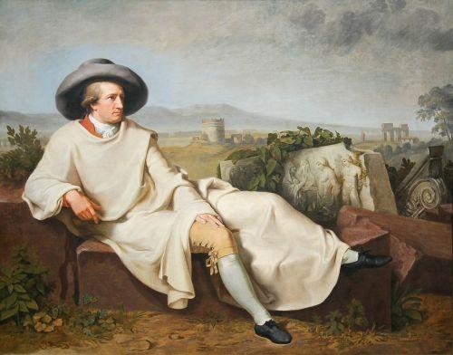 johann wolfgang von goethe poet portrait