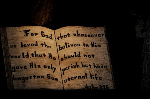 John 3:16 Bible Verse Decoration