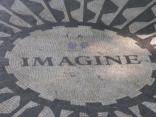 john lennon imagine strawberry fields