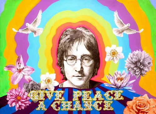 john lennon beatles peace