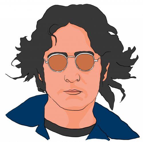John Lennon Clipart