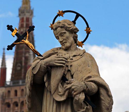 john of nepomuk john of pomuk bridge saint