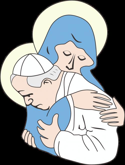 john paul 2 pope maria