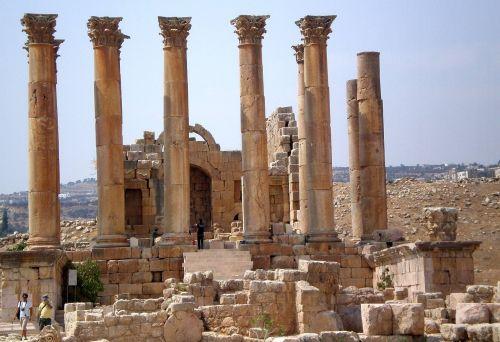 jordan gerasa monuments