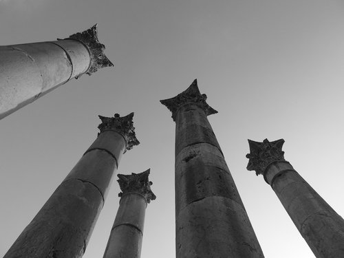 jordan  column  archaeology