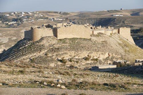 jordan  desert  sand stone