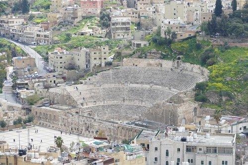 jordan  amman  theater