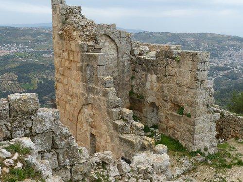 jordan  ajloun  ruin
