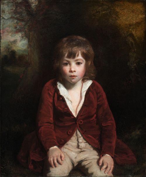 joshua reynolds,berniukas,vaikas,menas,dažymas,aliejus ant drobės,meno,meniškumas,portretas