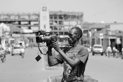 journalist cameraman uganda