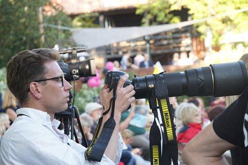 journalist  photography  camera