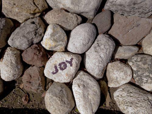 Joy Written On Rock