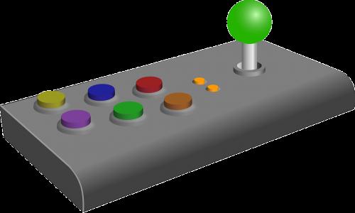 joystick gaming computer