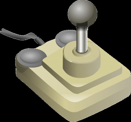 joystick white game controller