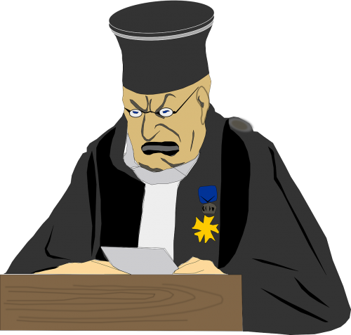 judge man law