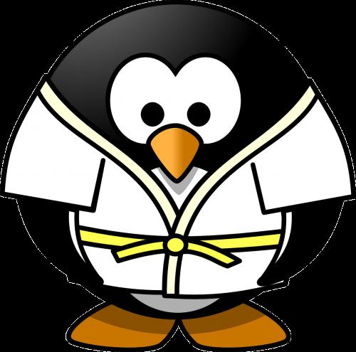 judo penguin sports