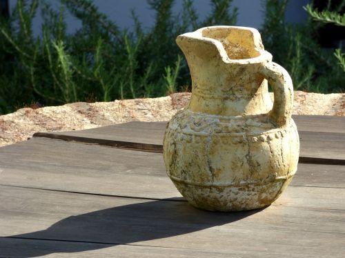 jug clay pottery
