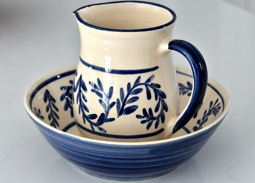 jug  bowl  washing