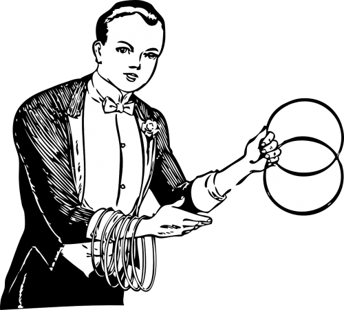 juggler performer magician