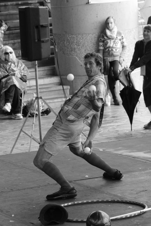 juggler agility entertainment