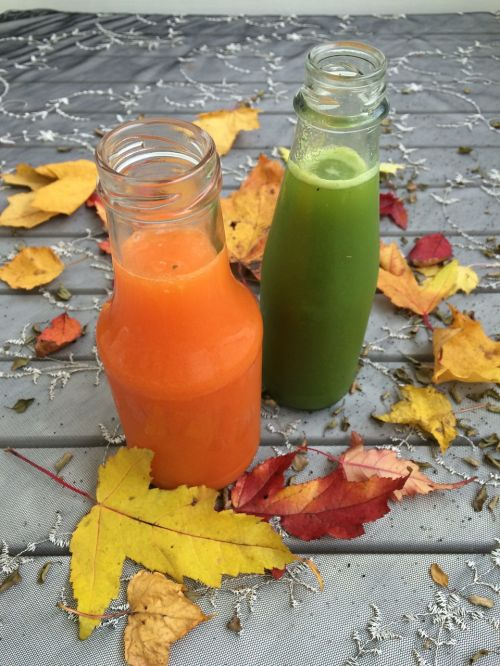 ökologisch juice autumn