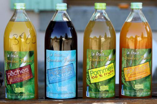 bottle drink juice
