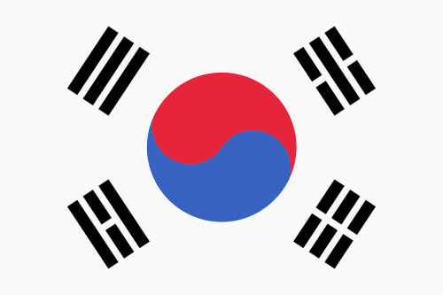 julia roberts republic of korea flag