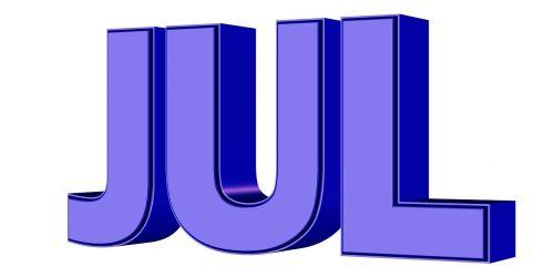 july jul month