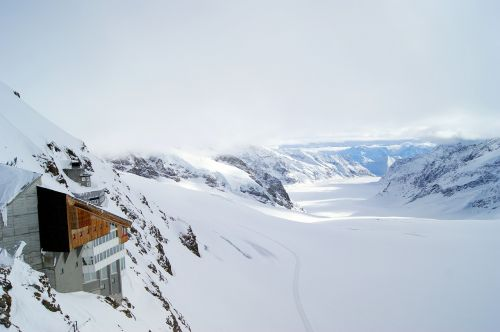 jungfraujoch glacier mountains