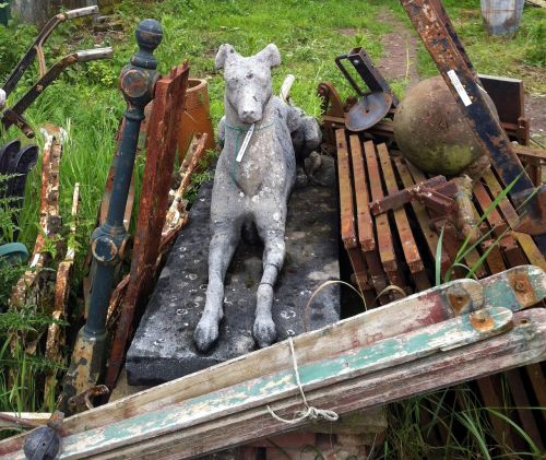 junk antiques scrap
