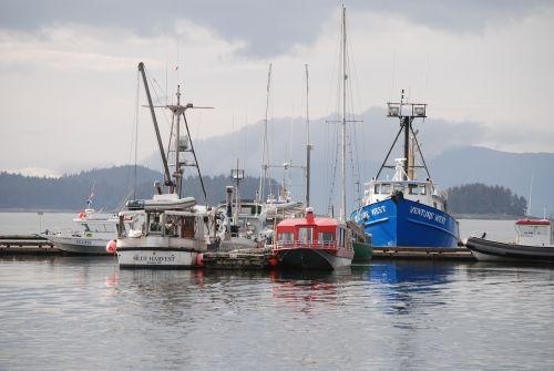 juno alaska fishing boats juno harbor