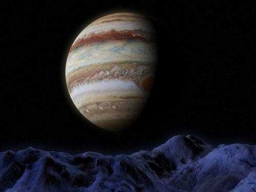 jupiter ganymede space