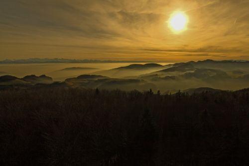 jura alpine fog
