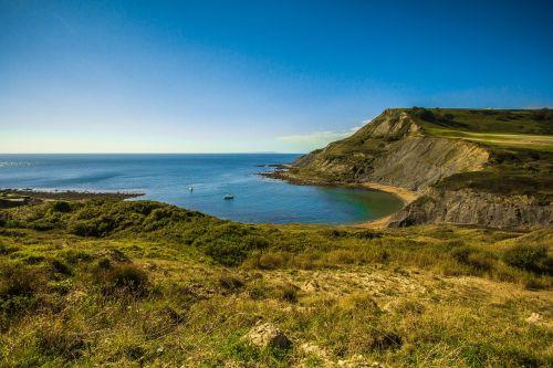 jurassic coast england ocean