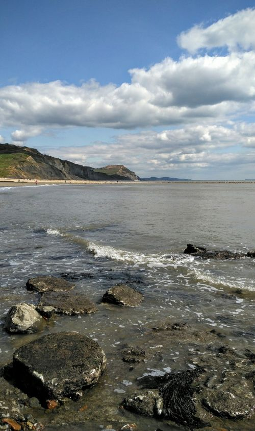 jurassic coast charmouth uk
