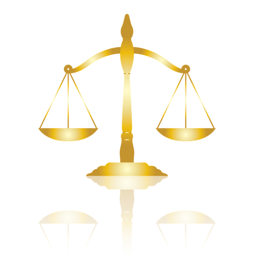justice gold scale
