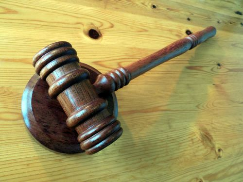 justice court hammer