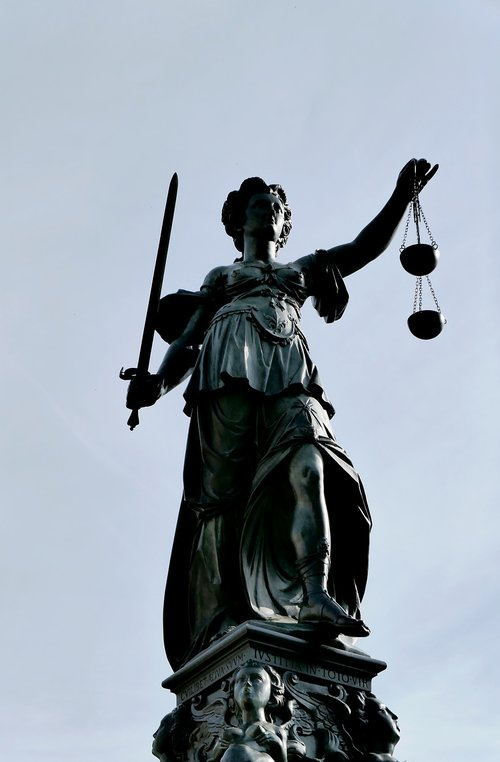 justitia  justice  case law