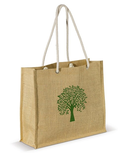 jute cotton handle bag  jute bags laminated  shopping bag