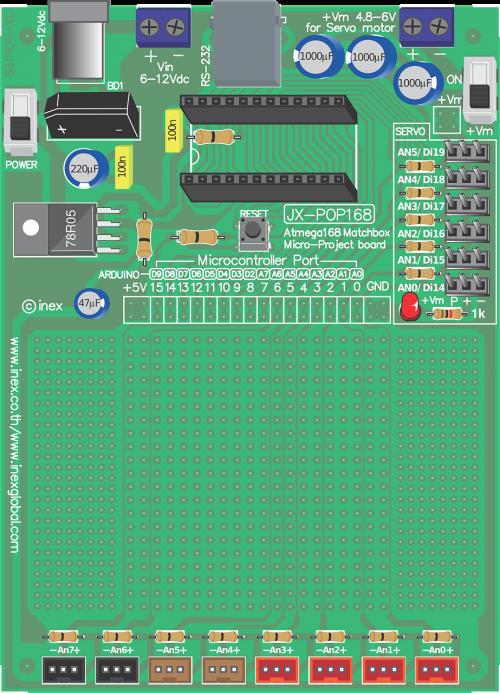 jx-pop168 electronic board